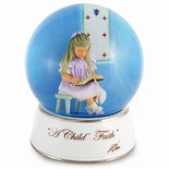 A Child�s Faith Musical Water / Snow Globe By Twinkle, Inc.