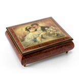 """A Token of Love"" Ercolano Musical Jewelry Box"