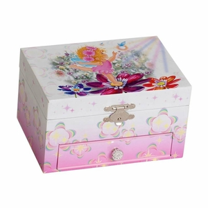 Adorable Ella Childrens Musical Jewelry Box with Twirling Ballerina
