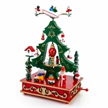 Animated Carnival Christmas Scene Musical Holiday Keepsake