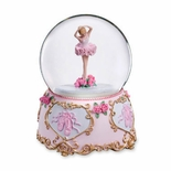 Ballerina In Pose Water globe By San Francisco Music Box Co.