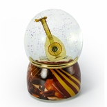 Exquisite Showcased Lute Musical Water / Snow Globe from winkle