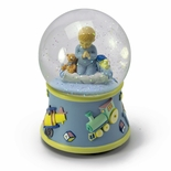 Bedtime Prayers Boy, Rotating Musical Water Globe