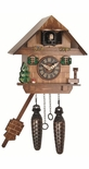 Black Forest 1 Day Chalet Style Cuckoo Clock