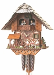 "Black Forest VDS Certified 1 Day Musical Cuckoo Clock with Beer Drinkers by Rombach and Haas (Extra 20% Off Sale Price - Code ""romba20"")"