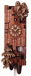 "Black Forest VDS Certified Hand Carved 8 Day Cuckoo Clock with Owls by Rombach and Haas (Extra 20% Off Sale Price - Code ""romba20"")"