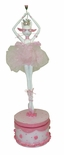 "Charming Musical Ballerina Cat Figurine from the ""Catwalk"" Collection by Westland"