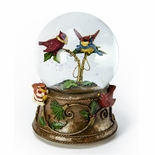Chatting Cardinals Musical Water / Snow Globe By Twinkle, Inc.