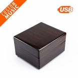 Custom Sound Module Digital Modern Music Box with Hi Gloss Finish