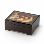 Degas Dress Rehearsal of Ballet Musical Jewelry Box
