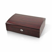 Elegant and Spacious Hi Gloss Rosewood 18 Note Music Jewelry Box