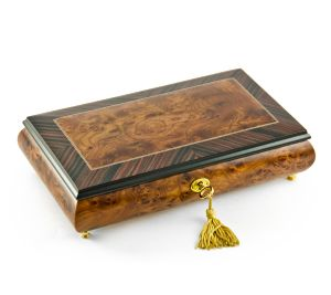 Musical Jewelery Box with lock and key