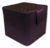 Extraordinary Purple Double Layer Jewelry Box