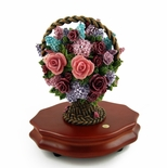 Gorgeous Glynda Turley �In Full Bloom� Musical Bouquet of Flowers