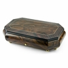 Handcrafted 72 Note Swiss Classic Style Inlay Cut Corners Grand Music Box