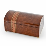 Handcrafted Classic Style Italian 18 Note Musical Jewelry Chest