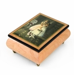 "Handcrafted Ercolano Music Box Featuring ""Encore"" by Sandra Kuck"