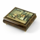 "Handcrafted Italian Ercolano Musical Jewelry Box - ""The Photographer"" by MI Hummel"