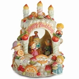 Birthday Cake Musical Water / Snow Globe By Twinkle, Inc.