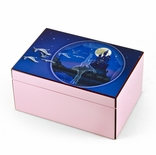 Hi-Gloss Pink and Purple Enchanted Ballet Musical Jewelry Box By Twinkle�
