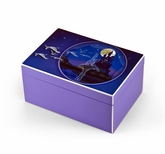 Hi-Gloss Purple Enchanted Ballet Musical Jewelry Box By Twinkle�