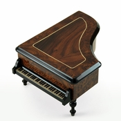 Incredible Classic Style Grand Piano Sorrento Inlaid Music Box