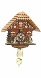 Kuckulino Black Forest Chalet Style Clock with Quartz Movement
