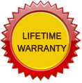 Lifetime Warranty Up to $100