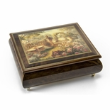 """Lisa's Garden"" Beautiful Art Box from Ercolano"