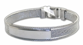 Magnifisent Modern Men's High End Stainless Steel Bracelet