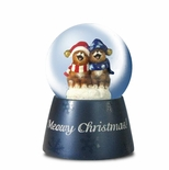 Meowy Christmas Miniature Musical Waterglobe