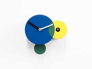 Modern Geometric Elements Cuckoo Clock - Kandinsky by Progetti