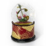 Moon Lute With Lotus Musical Water / Snow Globe By Twinkle, Inc.
