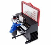 Mr. Christmas Play it Again Polar Bear On Upright Piano
