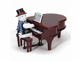 Mr. Christmas Play It Again Polar Bear with Baby Grand Piano UNBEATABLE PRICE