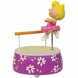 Peanuts Ballerina Sally Animated Musical Figurine