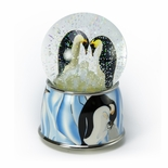 Penguin Pair Musical Water / Snow Globe By Twinkle, Inc.