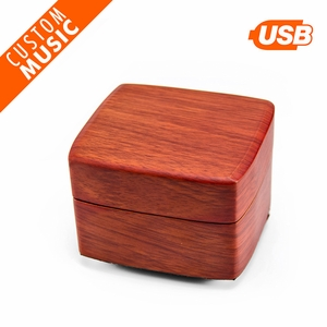 Perfect Chic Wooden Custom USB Sound Module Music Box - Our Least Expensive Custom Sound Box