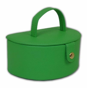 Perfect Sized Green Double Layered Jewelry Box