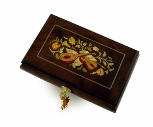 Hand Crafted Musical Jewelry Box