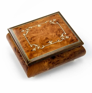 Unique and Sophisticated Classic Music Box Features A Very Subtle & Artistic Frame