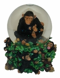 Westland Musical Monkey Waterglobe With Amazing Detail