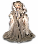 """Winter"" Fantasy Series Rare Xenis Musical Doll<br> Exclusive, Limited Edition"