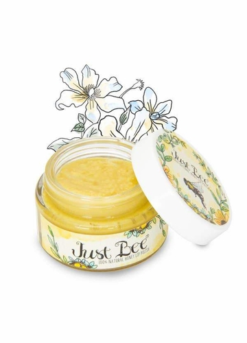 100% Natural Granulated Honey Lip Polish from Just Bee