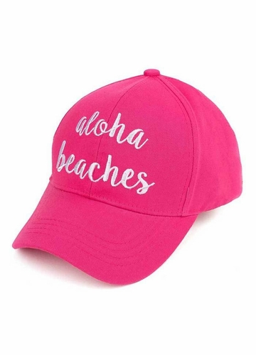 Aloha Beaches CC Brand Baseball Hat