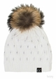 Angora Wool Knit Beanie Hat from CC Brand inset 4