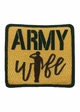 Army Wife Patch Baseball Hat inset 1