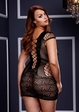 Baci Criss Cross Net Dress inset 3