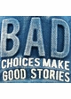 Bad Choices Make Good Stories Denim Vintage Baseball Hat inset 3