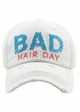Bad Hair Day Embroidered Baseball Hat inset 2